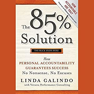 The 85% Solution Audiobook