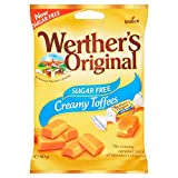 Werther's Toffee Sugar Free 80g