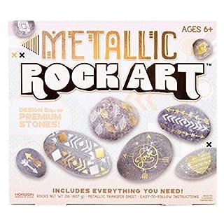 Metallic Paint Your Own  Rock Art by Horizon Group USA