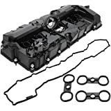 BOXI Valve Cover With PCV Valve, Gasket & Bolts Fits 3.0L BMW 2008-2013 128i 2007-2013 328i 2007-2008 328xi 2008-2011 528i 2008 528xi 2007-2012 X3 2007-2010 X5 2006-2011 Z4 11127552281,11127582245 (Color: unpainted)