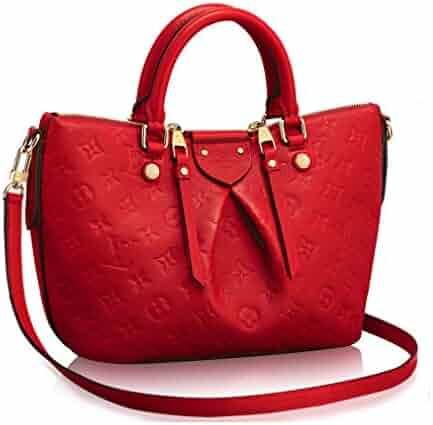 c8e4d0112ce7 Authentic Louis Vuitton Mazarine PM Bag Handbag Article  M50638 Cherry Made  in France