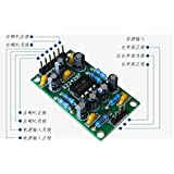 1 pcs lot single power supply 3V 5V 9V dual channel low power TDA2822M amplifier board
