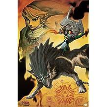 Midna The Legend of Zelda Twilight Princess Nintendo High Fantasy Video Game Series Poster - 12x18