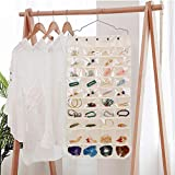 SPIKG Hanging Jewelry Organizer, Dual Sided 40