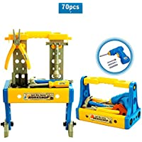 Bfull 70-Piece Deluxe Toy Workbench Tool Set