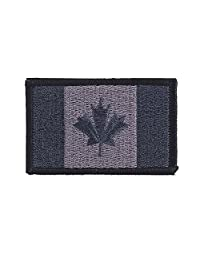 OneTigris Canadian Flag Tactical Patch Morale Military Patch