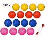 Adwikoso 24 Pcs Practice Golf Balls Foam Soft