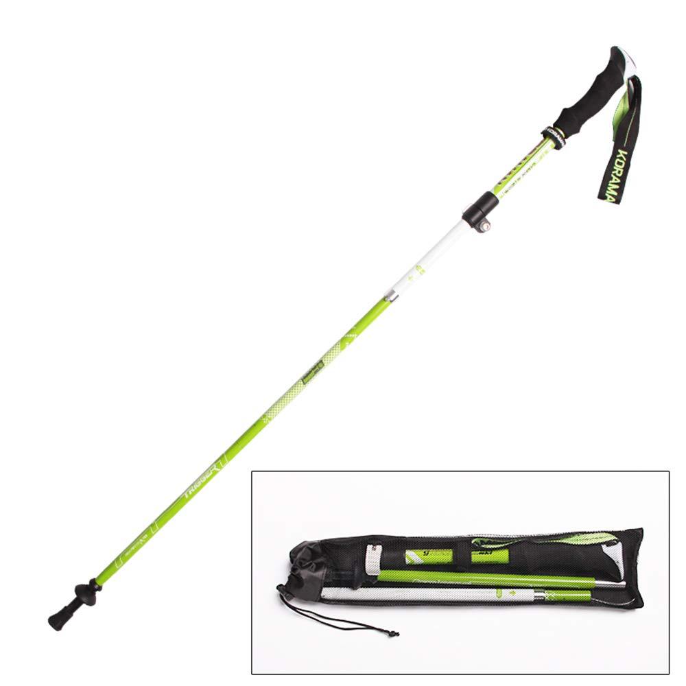 Grün 37115CM AYUE® - 2Er Pack - Anti Shock Wandern Wandern   Trekking Trail pÃle - 1 Paar