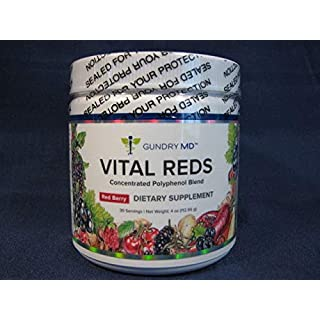 Gundry MD Vital Reds Concentrated Polyphenol Blend Dietary Supplement