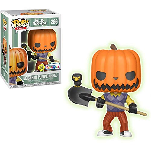 Hello Neighbor POP! Games Vinyl Figure Pumpkin Head GITD 9 cm Funko Mini figures