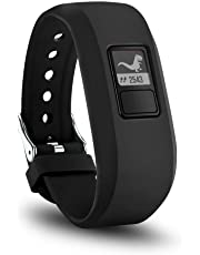 TERSELY Band Strap for Garmin Vivofit JR 3 Junior 2, Soft Silicone Metal Clasp Buckle Wrist Strap Watch Band Bracelet for VIVOFIT 3 JR Junior 2 1 Kids Fitness Tracker - Black