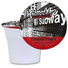 Brooklyn Bean Cinnamon Subway Coffee Capsule, Compatible with Keurig K-Cup Brewers, 24-Count