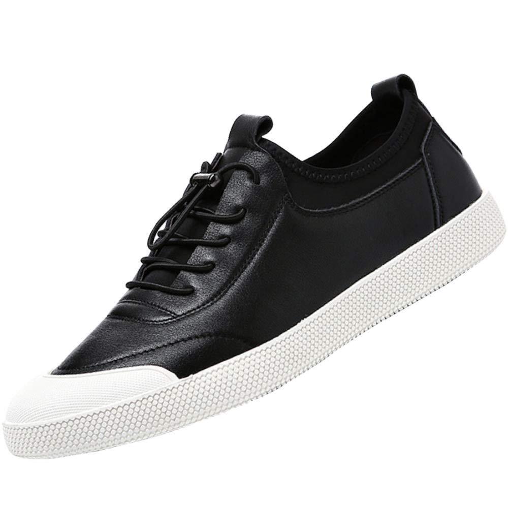 2dbcd7c2c3 Oudan Herren Sportschuhe Fashion Lace Schuhe Breathable Freizeitschuhe  (Farbe Weiß, Größe 42EU) Leder nrmdfh223-Trekking- & Wanderschuhe