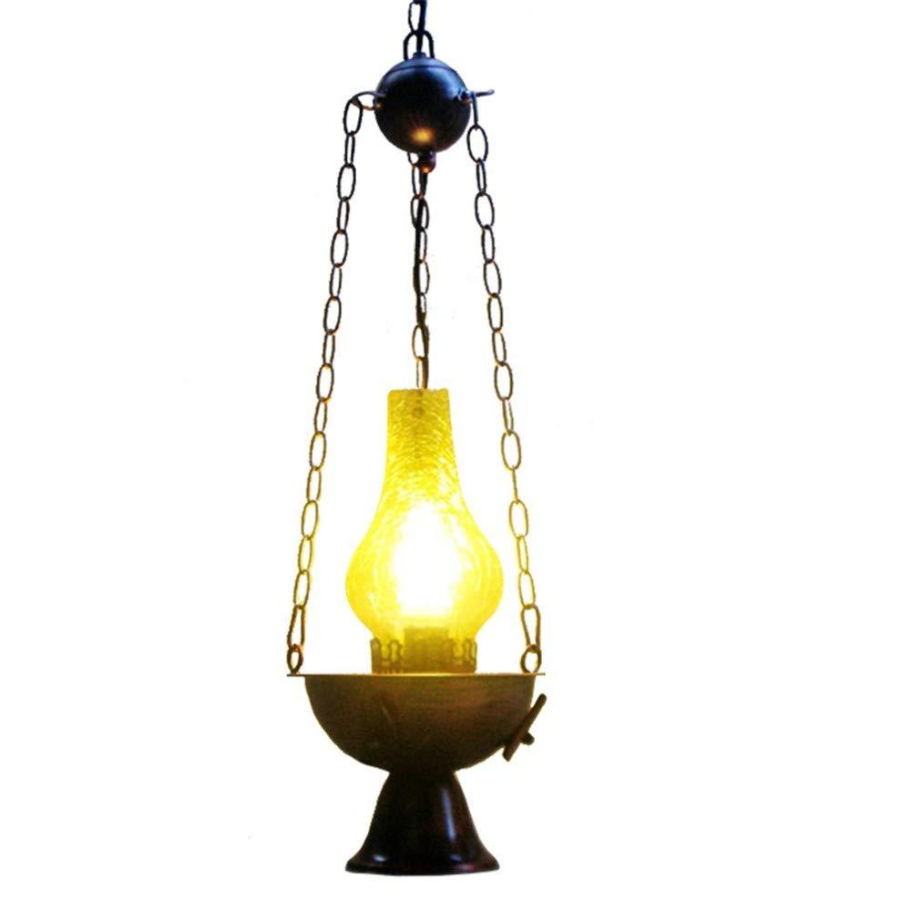 Deckenbeleuchtung Deckenleuchte Pendelleuchten Loft Restaurant Korridor Gang Kerosin Industriellen Stil Beleuchtungsleuchte Einzigen Kopf E27 21  93 Cm