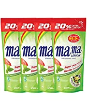 Mama Lemon Dishwashing Liquid Refill, Anti-Bacterial