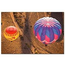 Trademark Fine Art Ballon Dutet by AIANA Canvas Wall Art, 16x24-Inch