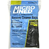 Package of 10 Replacement Kenmore Micro Bags Upright Model 5068,