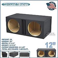 12 Dual ported subwoofer box 35Hz