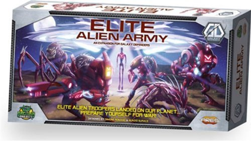 Galaxy Defenders Expansion  Elite Alien Army by Ares Games
