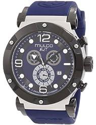 Mulco Unisex MW5-1623-045 Nuit Track Chronograph Swiss Movement Watch