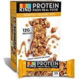 KIND Protein Bars, Toasted Caramel Nut, Gluten Free, 12g Protein,1.76oz, 12 count