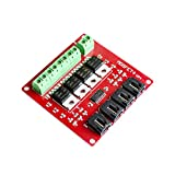 Hidream®4 Channel 4 Route MOSFET Button IRF540 V4.0+ MOSFET Switch Module For Arduino