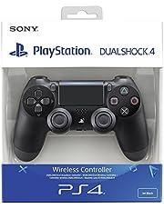 Sony Dualshock 4Gamepad Playstation 4,Schwarz–Zubehör für Videospiele (Gamepad Playstation 4, Digital, D-pad, kabelgebunden/kabellos, Bluetooth/USB)