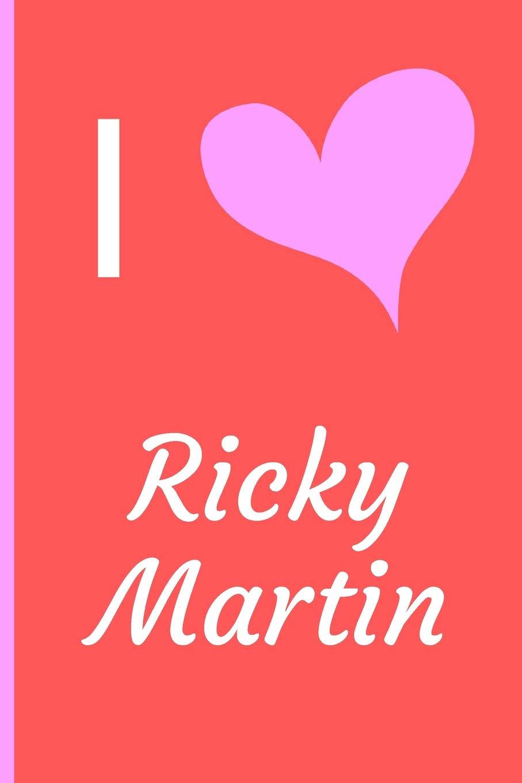 Amazon.com: I Love Ricky Martin: Fan ...