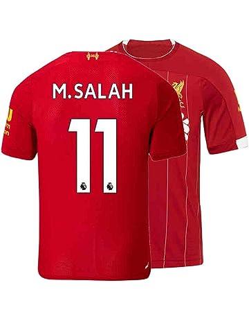 18eff531b7 Mens M. Salah Jersey 11 Home 2019/20 Adult Soccer Liverpool