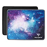 VicTsing Mouse Pads [2-Pack] with Stitched