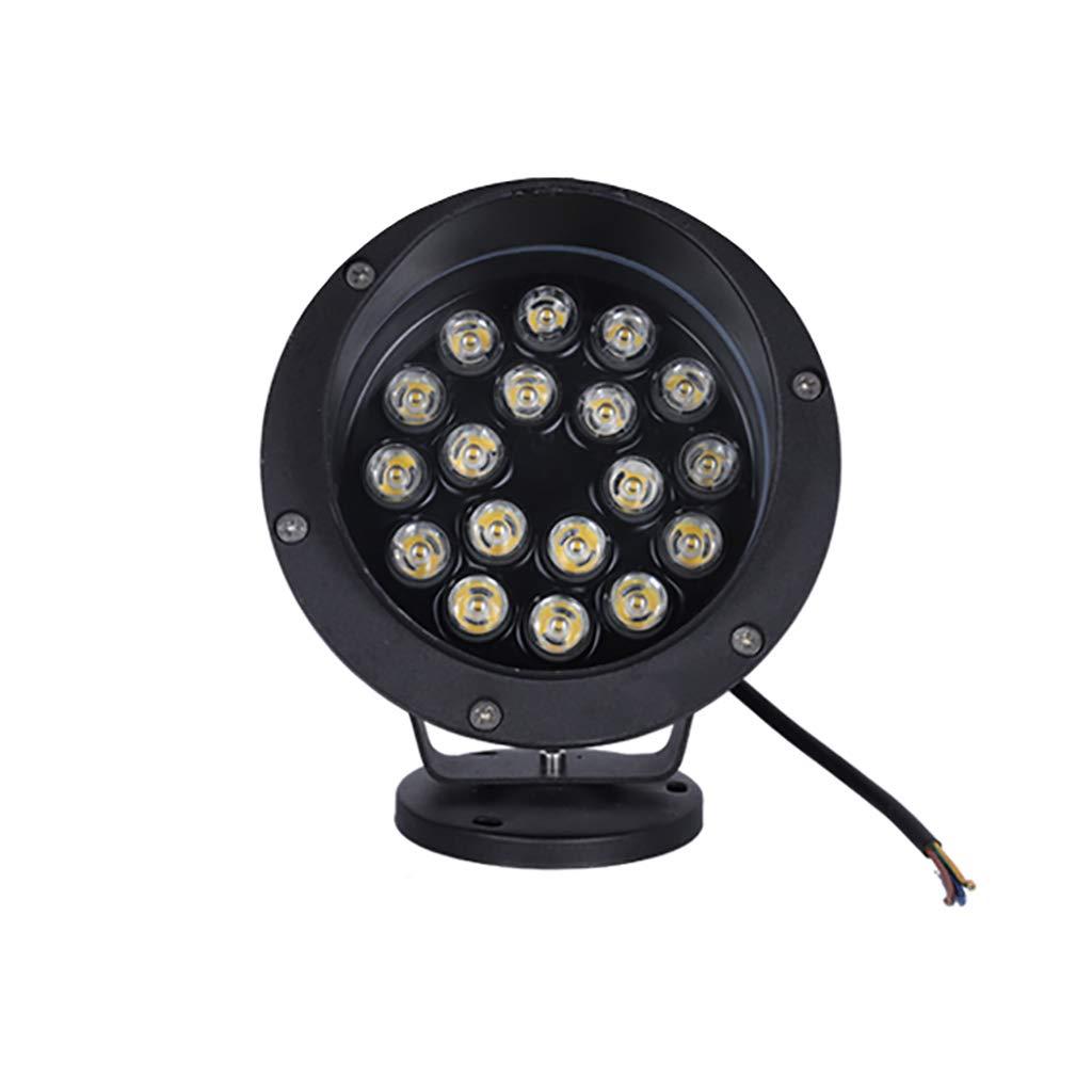 Faretto a LED da giardino Faretto da 6 W Proiettore a luce coloreata