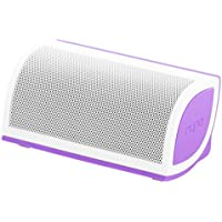 NYNE Multimedia Inc Mini Portable Bluetooth Speaker (White/Purple)