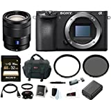 Sony a6500 Mirrorless Camera w/ 16-70mm Lens + 32GB Deluxe Accessory Bundle