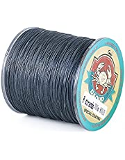 DAOUD Braided Fishing Line High Performance Strong Superline 10LB-80LB 300m(328yards) 4 and 8 Strands PE Fishing Lines