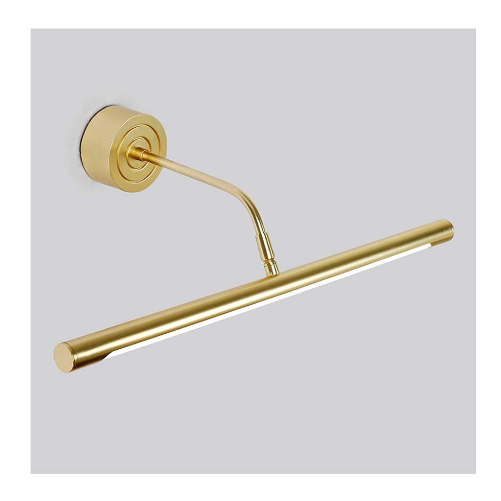 &Badezimmerbeleuchtung LED Spiegel Scheinwerfer, Spiegel Kabinett Lampe Wandleuchte Badezimmer Arbeitszimmer Einfache Wasserdichte Anti-fog Spiegel Scheinwerfer Licht