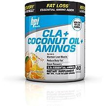 BPI Sports -BPI Health CLA + Coconut Oil + Aminos, Boost Weight Loss, Orange Freeze, 40 Servings