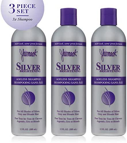 Jhirmack Shampoo Silver Plus Ageless 12 Fl Oz (3 Pack)