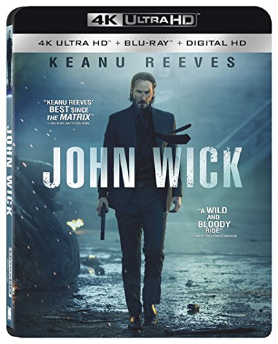 4K Blu-ray : John Wick (Instawatch, With Blu-Ray, Ultraviolet Digital Copy, 4K Mastering)