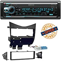 Kenwood Excelon KDC-X702 CD Receiver w/ Built-In Bluetooth, HD Radio 2003-2007 Car Radio Stereo CD Player Dash Install Mounting Trim Bezel Panel Kit Mount