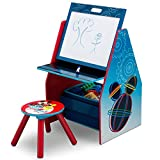 Delta Children Kids Easel and Play Station – Ideal for Arts & Crafts, Drawing, Homeschooling and More, Disney Mickey Mouse