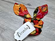 Abstract Scrunchie with Bow