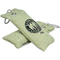 Kicada Bamboo Charcoal Air Purifying Bag Odor Eliminator 75g Pack of 2