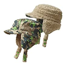Patagonia Unisex Infant Reversible Shell Hat Sycamore Camo/Hydro Green Size 3-6M (10 lbs)
