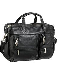 AmeriLeather Leather Business Briefcase