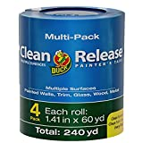 Duck Clean Release Blue Painter's Tape 1.5-Inch