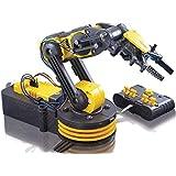 Elenco Teach Tech Robotic Arm Wire Controlled | Robotic Arm Kit | STEM Educational Toys for Kids 12+