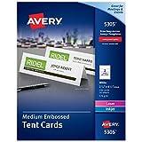 AVERY Printable Tent Cards, Laser & Inkjet