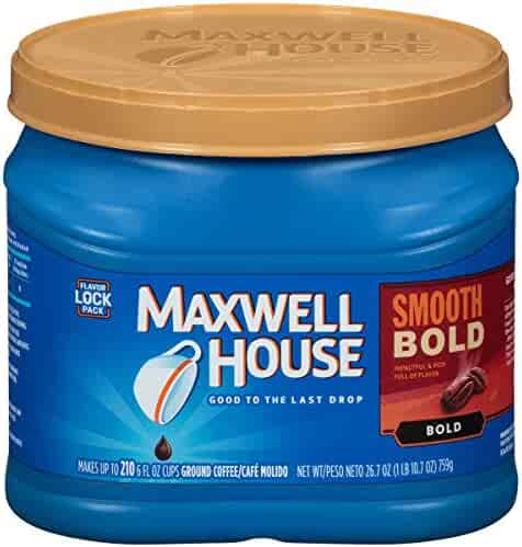 Maxwell House Ground Coffee, Smooth Bold, 26.7 Ounce