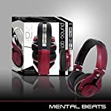 PRO Mental Beats Expert DJ Noise Cancelling Headphones w/ Microphone - 00545