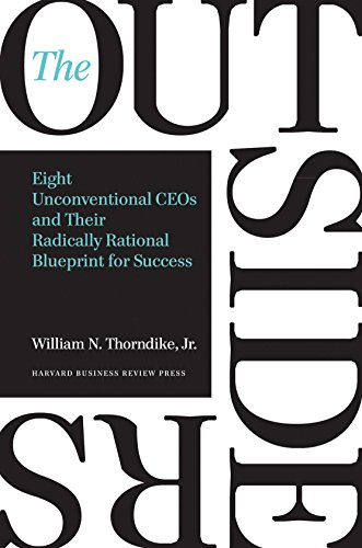 Book : The Outsiders: Eight Unconventional Ceos And Their...